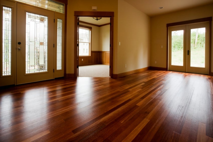 Flooring types in your home